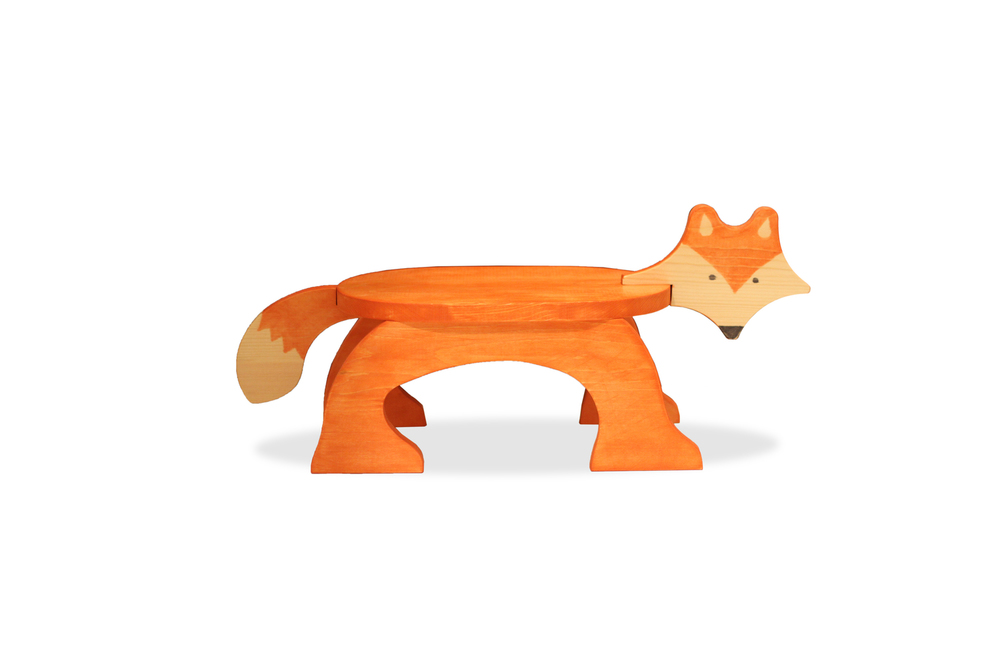 Fox Stool - Stained