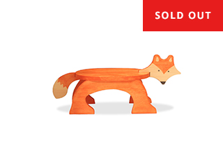 Fox Step Stool - STAINED - $65