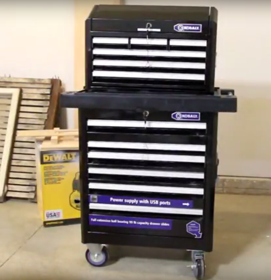 Kobalt Tool Cabinet >> The Story Of My Kobalt Tool Cabinet And Chest Product Review