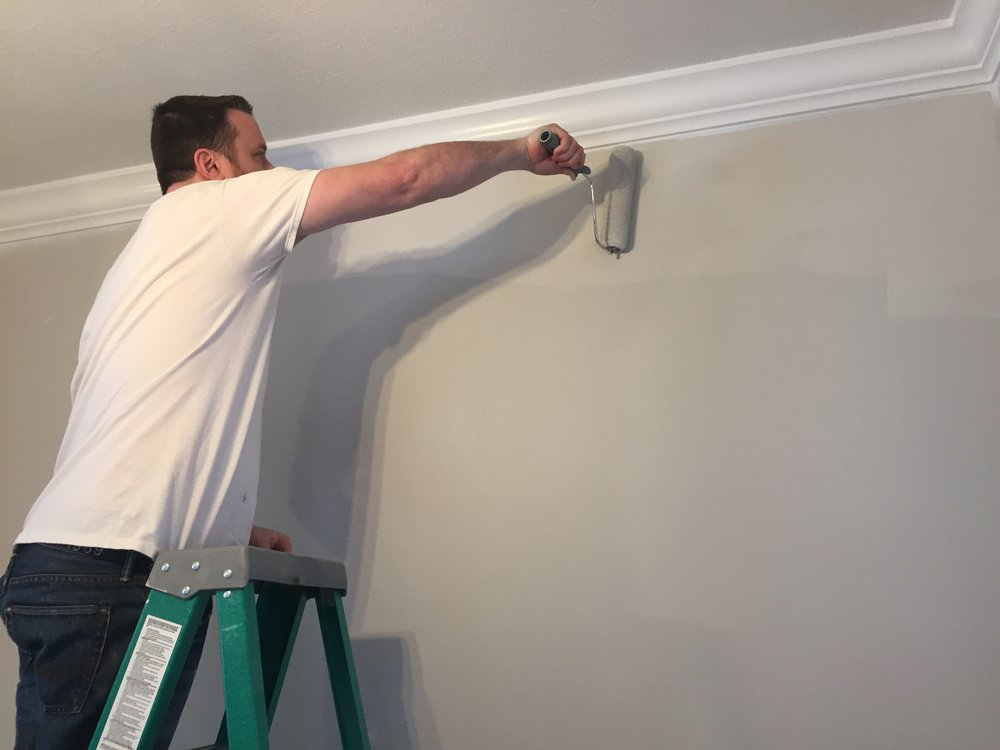 Painting the walls gray