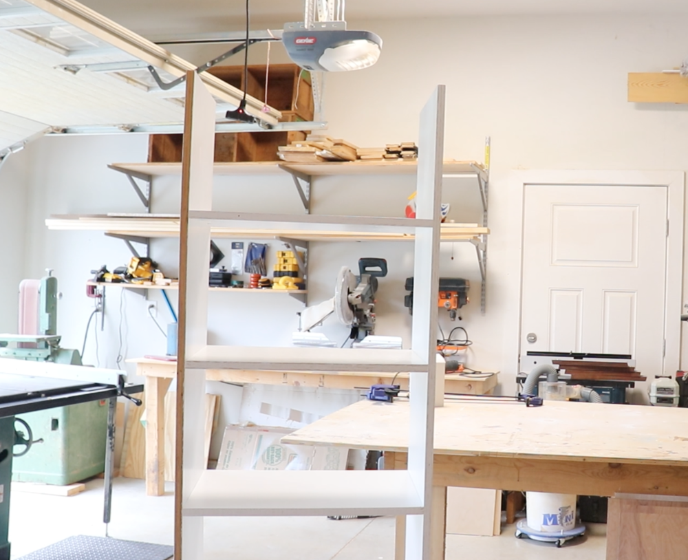 Assembled Custom Closet Shelves using Kreg Jig R3