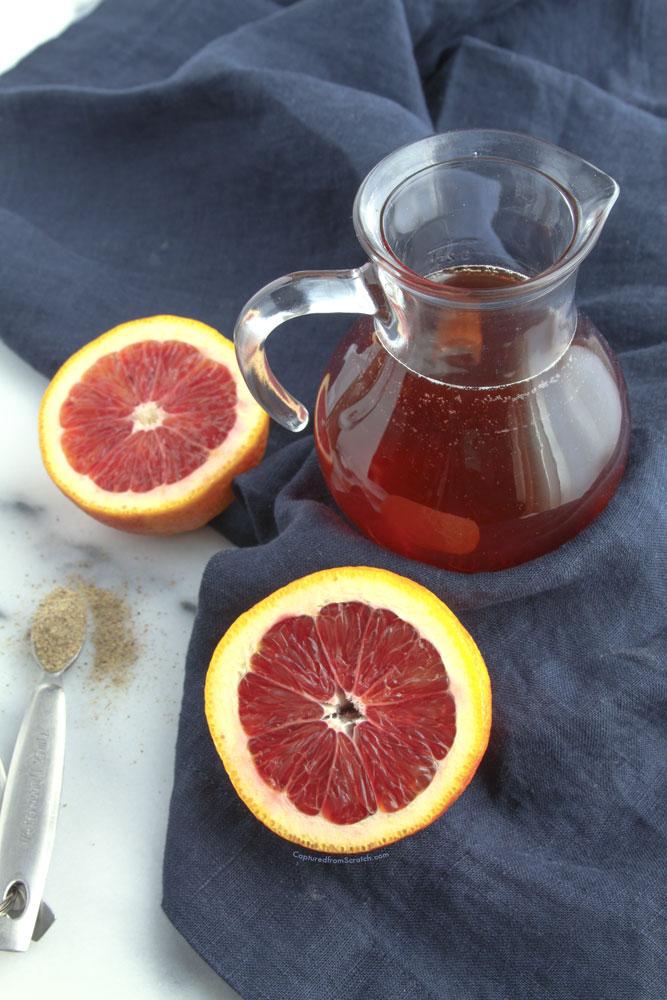 Blood Orange & Cardamon Maple Syrup