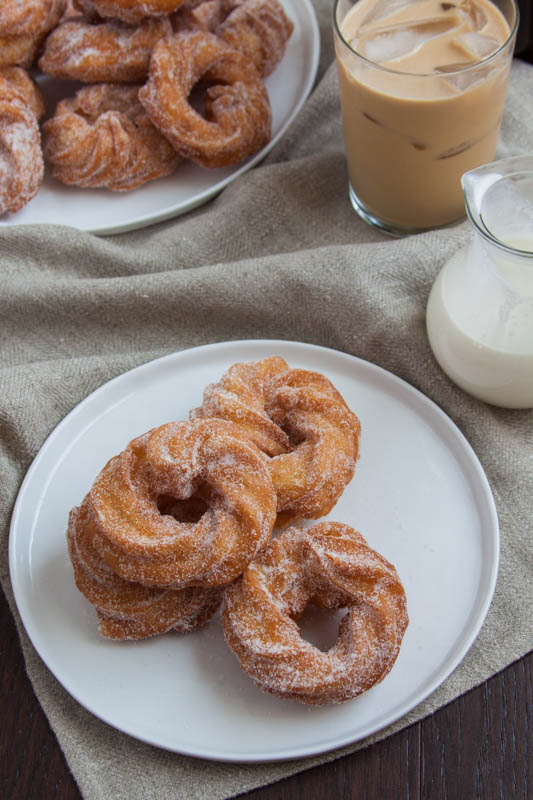 Sugared French Crullers