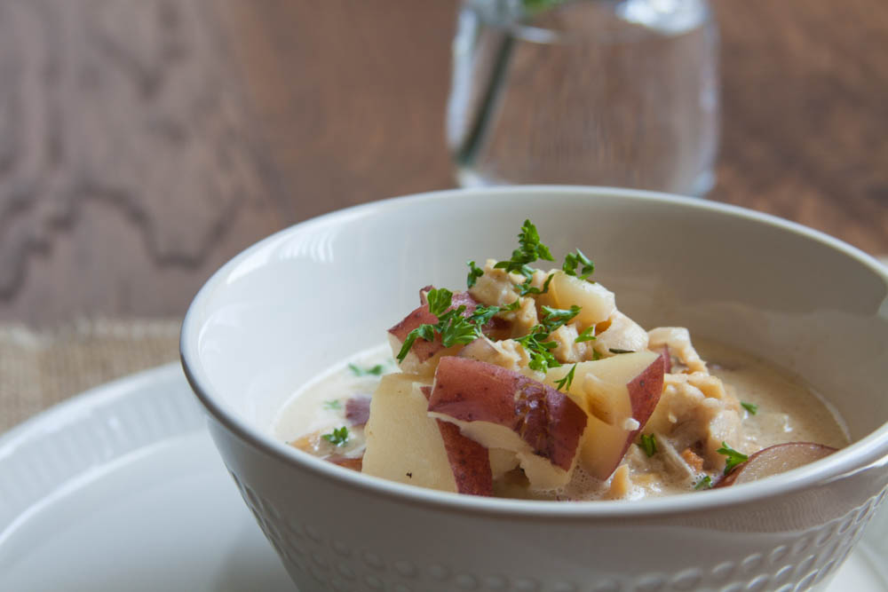 Chuncky Clam & Bacon Chowder