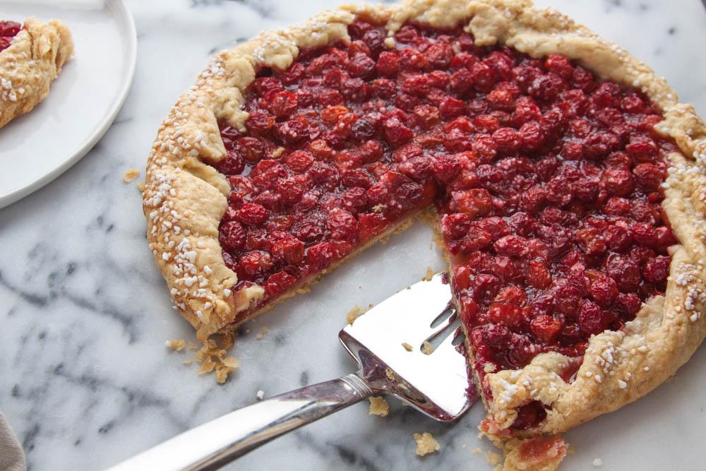 Tart Cherry Galette