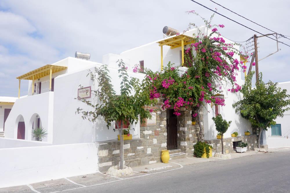 Streets of Naoussa, Paros
