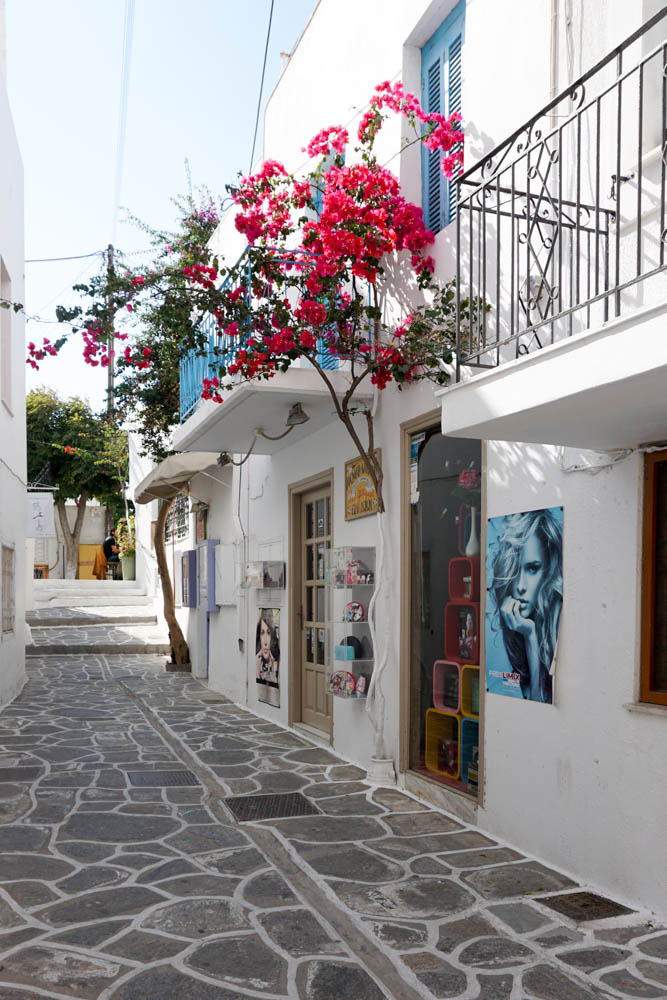 Streets of Parikia, Paros