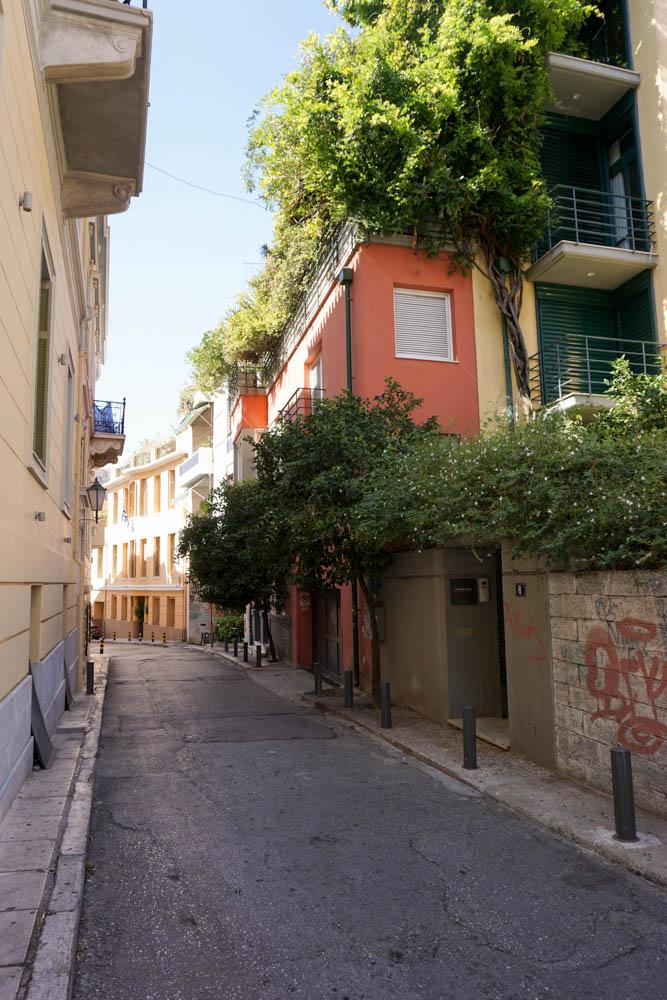 Streets of Plaka, Athens