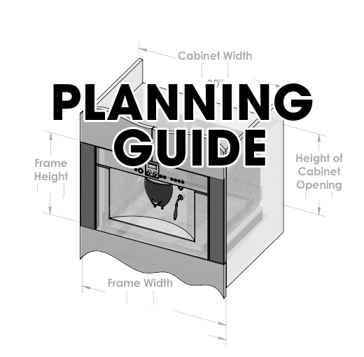 "Click Image Above for Planning Guide.  Overall Finished Dimensions:  26 7/8"" wide x 7/8"" deep"