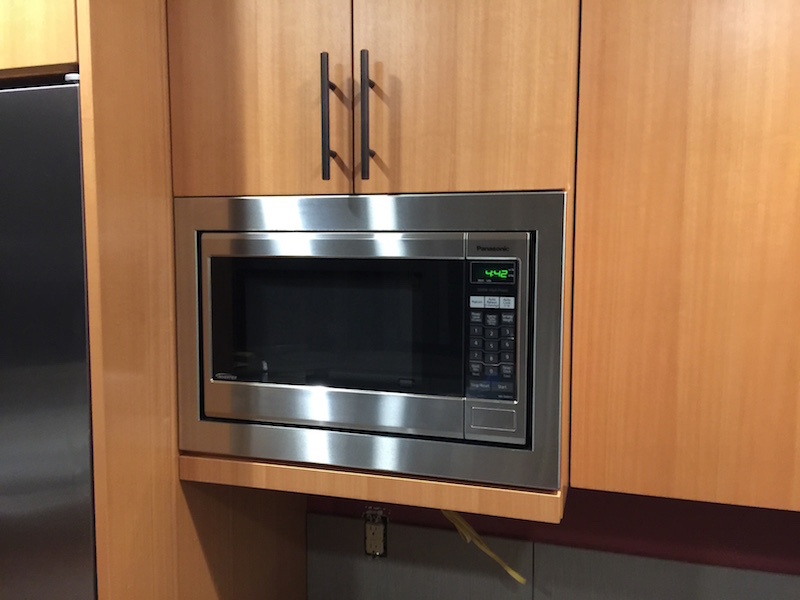 Is there a microwave trim kit that you can flush mount to for Microwave ovens built in with trim kit