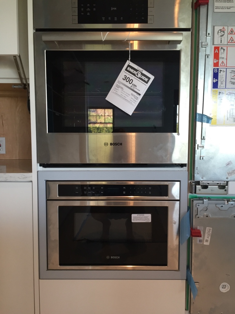 TrimKits USA Microwave Drawer Trim Kits allow you to stack your microwave  drawer and wall oven