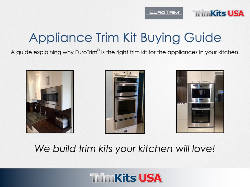 TrimKits USA Appliance Trim Kit Buying Guide -