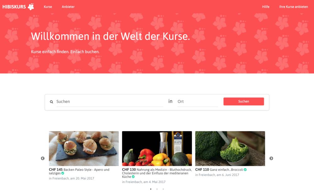 Hibiskurs.ch - Willkommen in der Welt der Kurse.