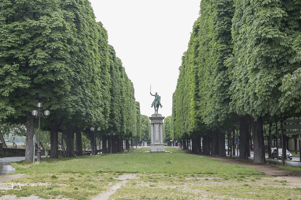 Statue near Pont Alexandre III.
