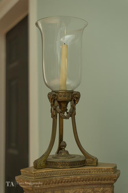 Candle holder in Kenwood House.