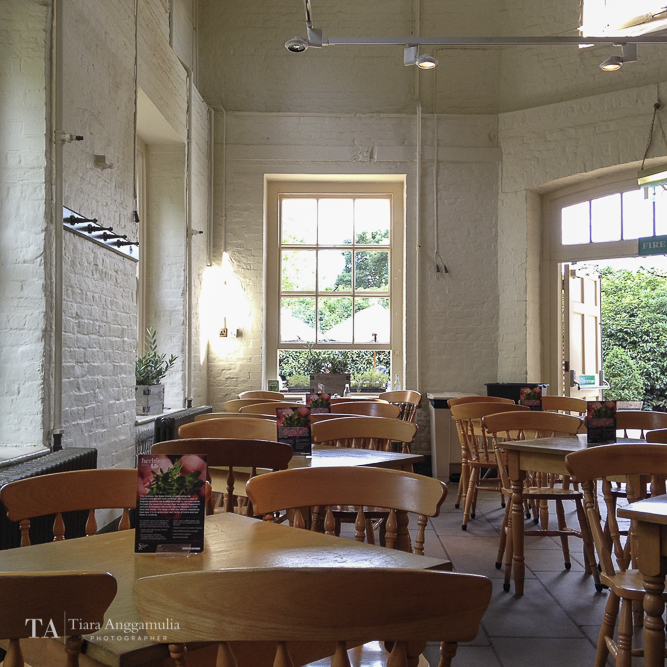 Interior of Brewhouse Cafe.