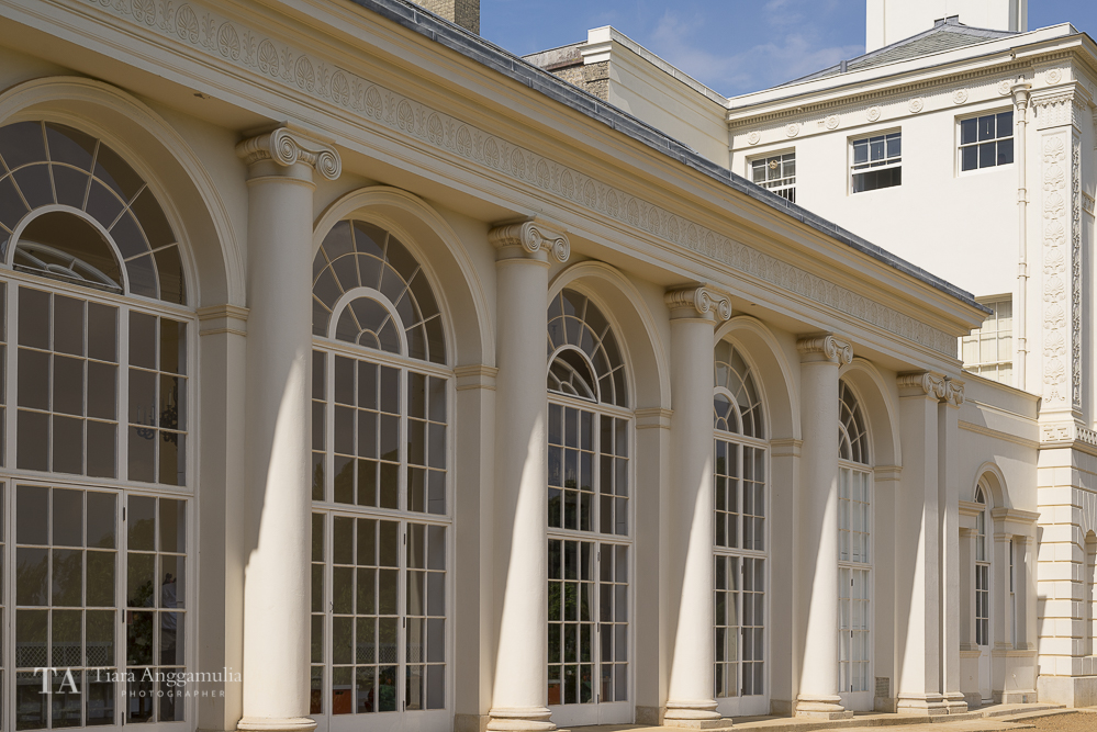 The Orangery of Kenwood House.