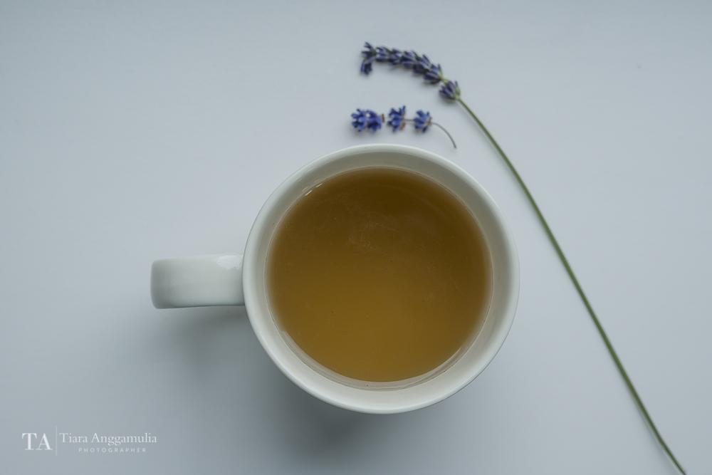 A calming cup of tea.