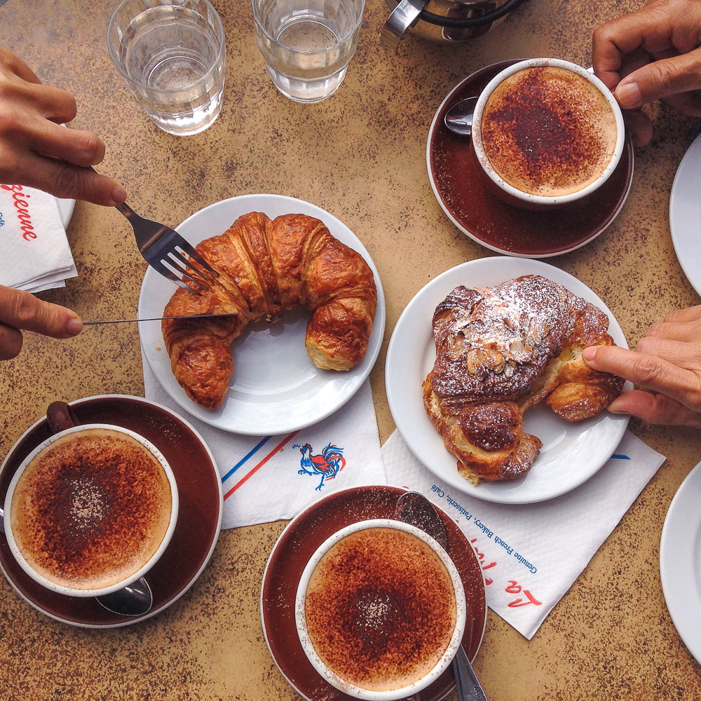 Morning coffee and pastries with family.jpg