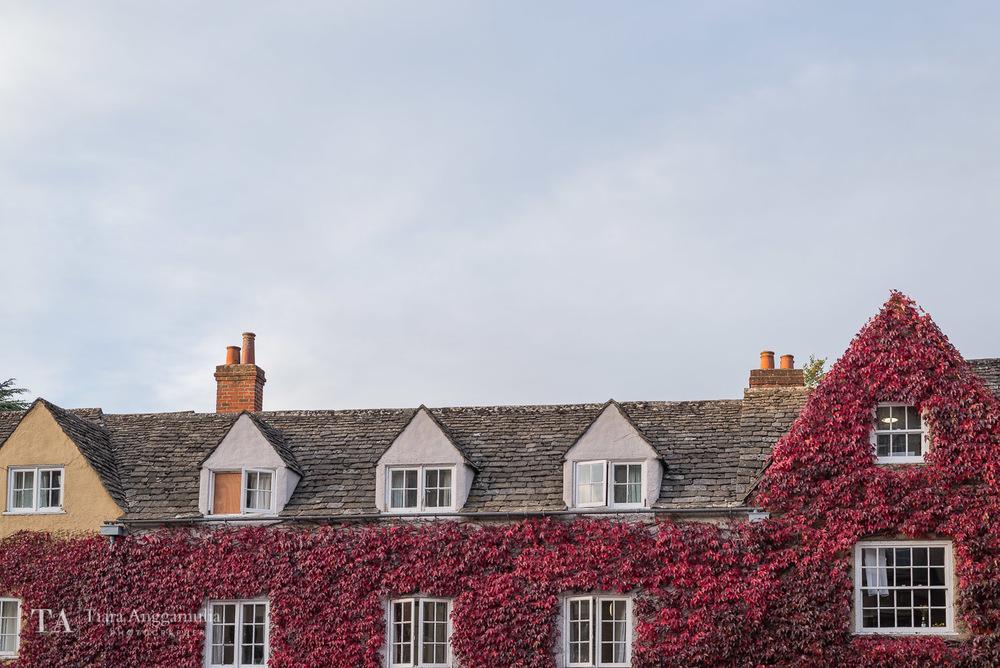 A pretty Oxford facade.