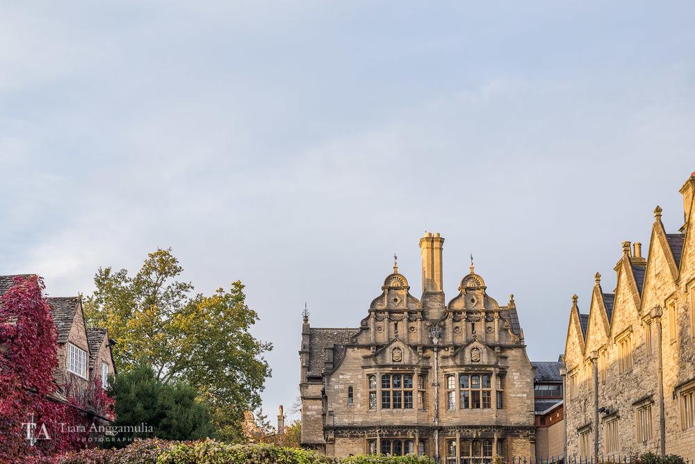 Pretty Oxford.