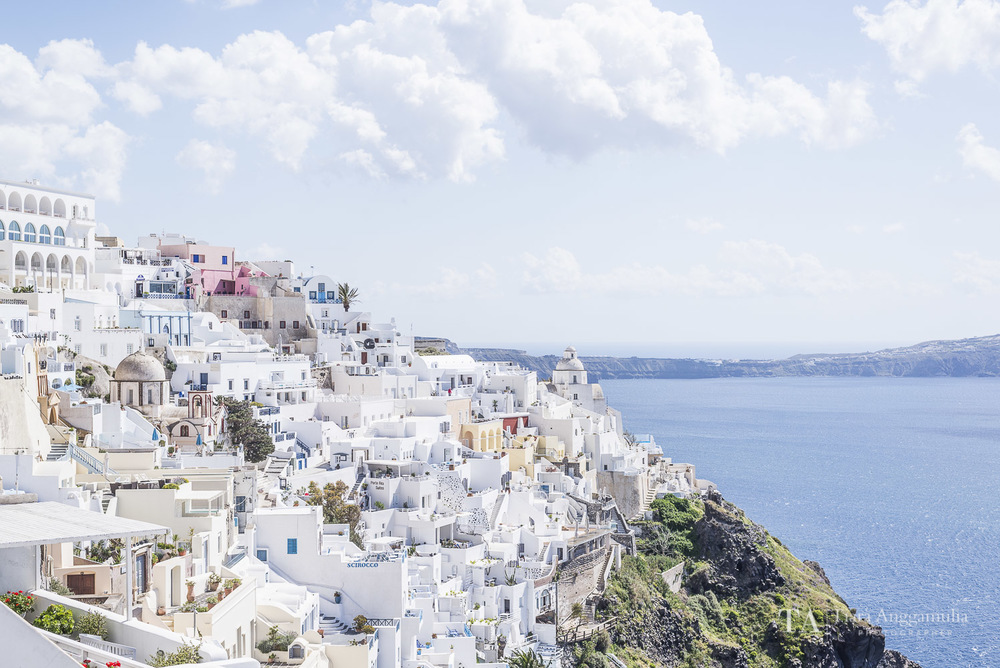 A view towards Fira town.