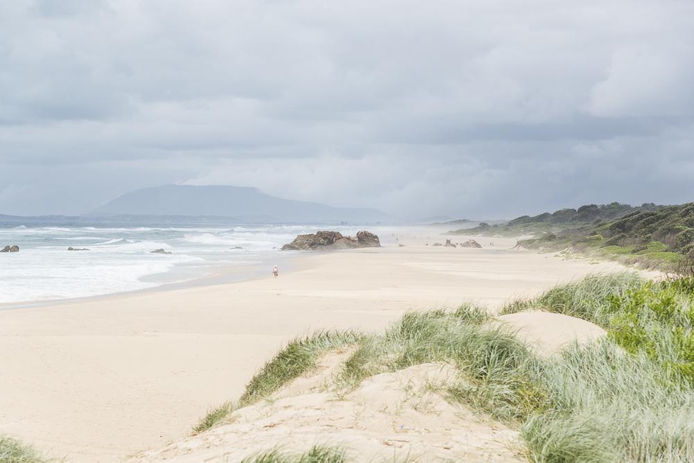 A view towards Lighthouse beach.