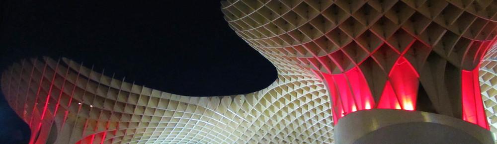 Metropol Parasol, Setas, Mushrooms, in Seville, Spain / Sevilla, España