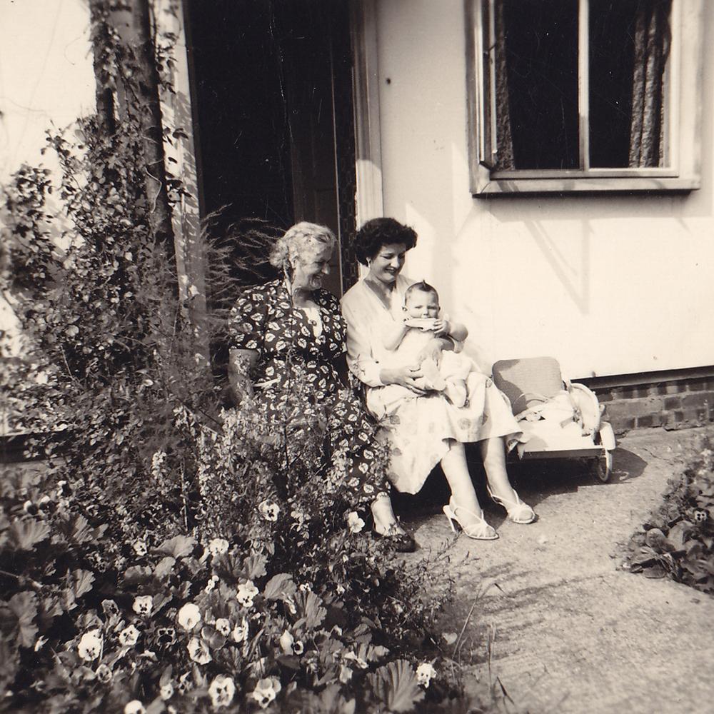 Great grandma, nanny, mum 1955