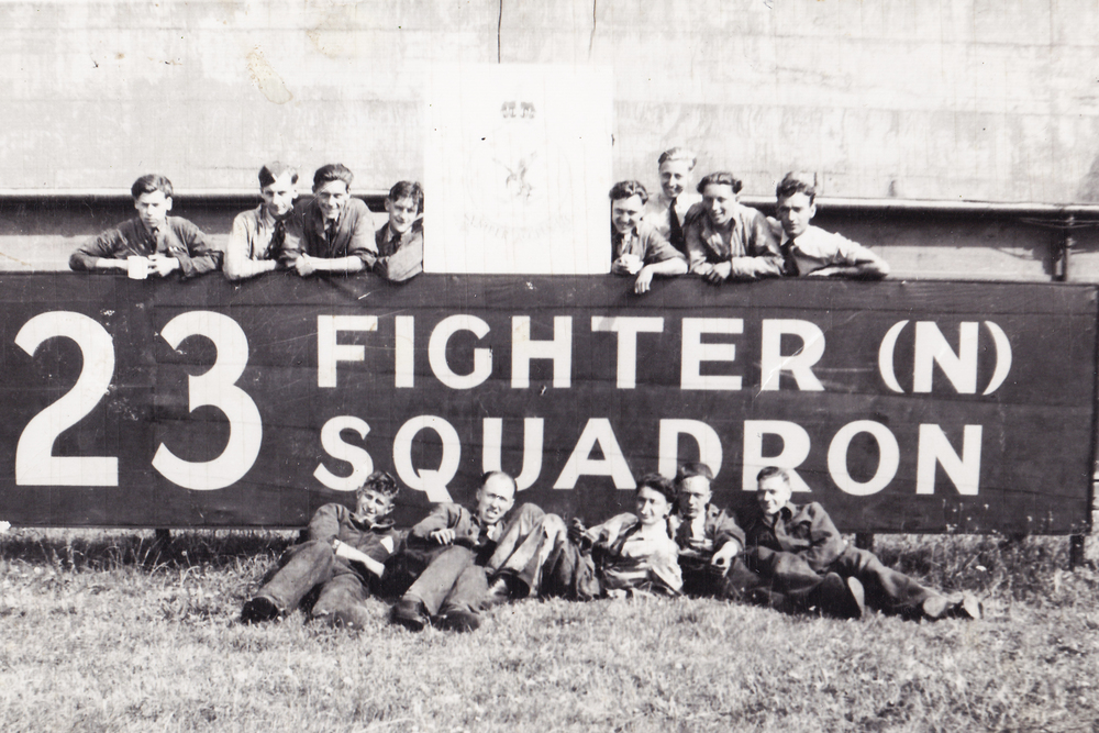 RAF Colitishall Jan 1948
