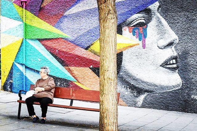 Turn the other cheek #halamadrid #madridista . . . . . #igersmadrid #travel #travelgram #travelgoals #spain #españa #madrid #madridstreetart #streetstyle #streetphotography #streetart #igersespaña #madridlife #visitmadrid #igerstravel #streetlife #grafitti #elrastro