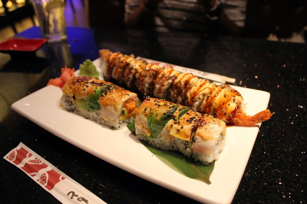 Dragonfly Asian Fusion Angry Sargeant's Roll // Dancing Monkey Roll Yummy ♥