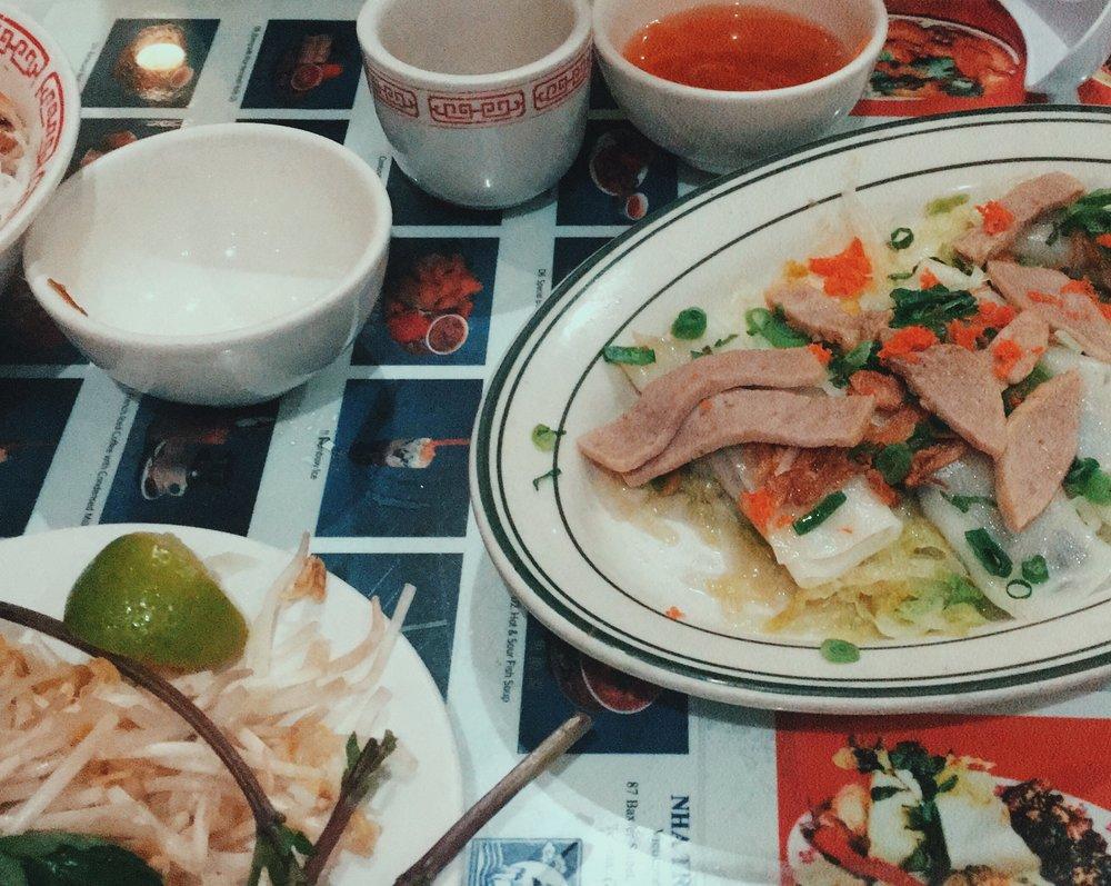My favorite Vietnamese food place at  Nha Trang .
