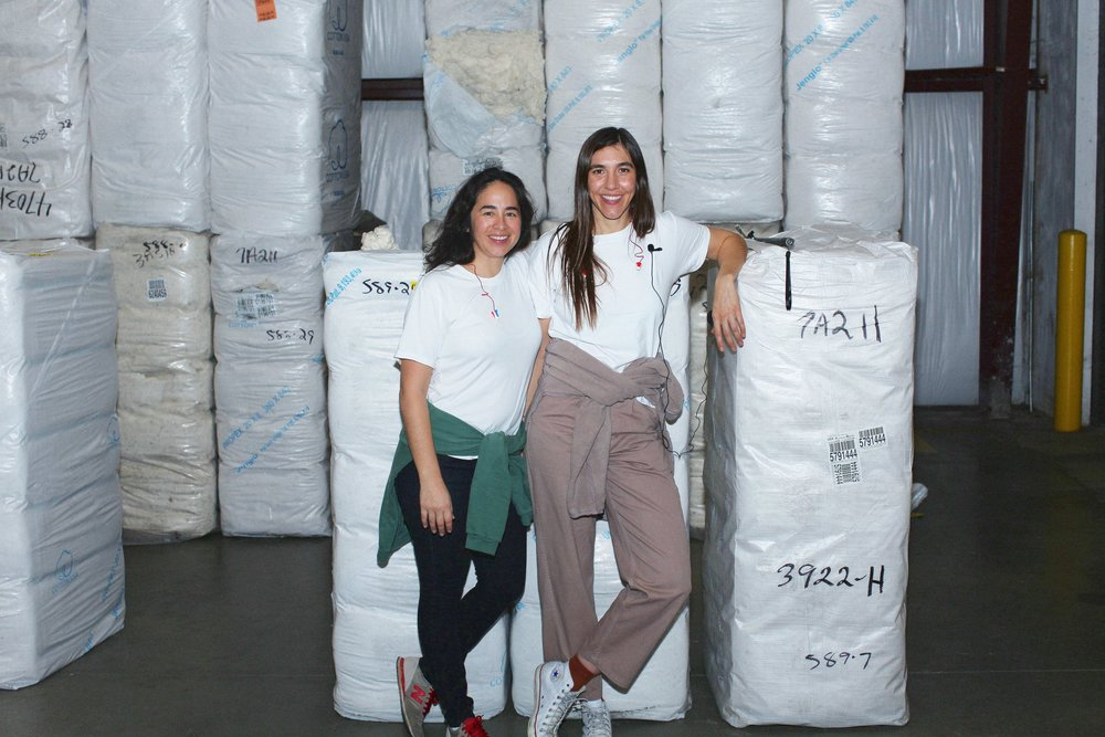 """Like EVERYBODY.WORLD, Iris Alonzo and Carolina Crespo were born and bred in Los Angeles. Iris is a fifth-generation Angeleno and Carolina a first-generation American; the daughter of Mexican immigrants who ran a factory in downtown LA throughout the 1970s-90s."" via  everybody.world"