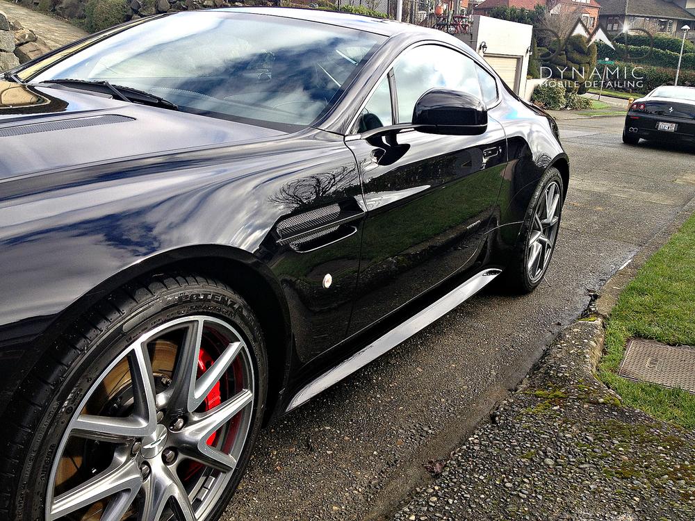 Aston Martin | Mobile Car Detailing | Bend, Oregon | Dynamic Mobile Detialing