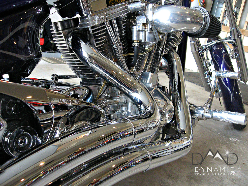 Motorcycle Detailing | Auto Detailing | Central Oregon | Dynamic Mobile Detailing