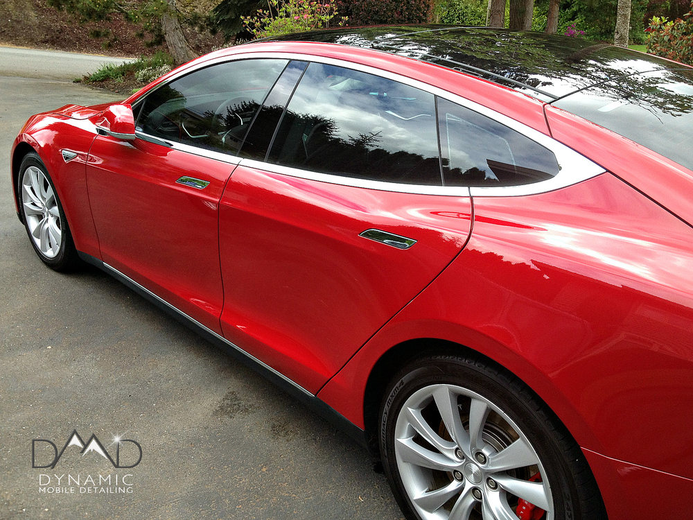 Tesla | Mobile Car Detail | Central Oregon | Dynamic Mobile Detailing