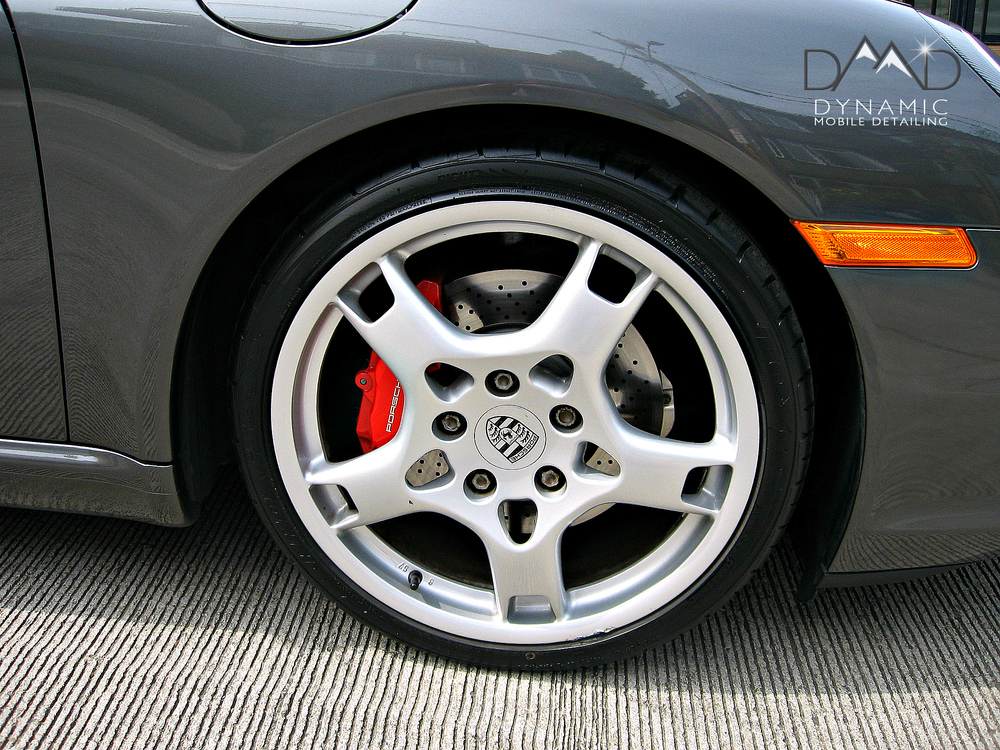 Porsche | Mobile Auto Detailing | Wheel Detailing | Bend OR | Dynamic Mobile Detailing