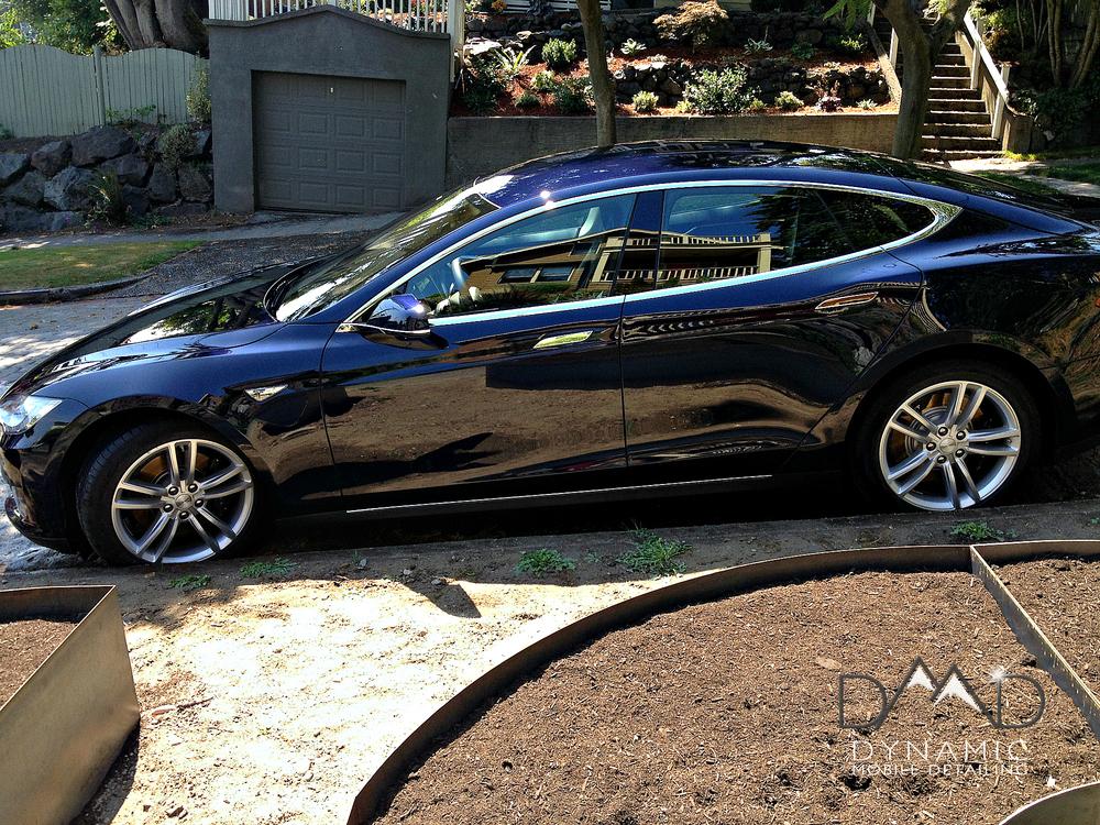 Tesla Model S | Car Detailing | Bend OR | Dynamic Mobile Detailing