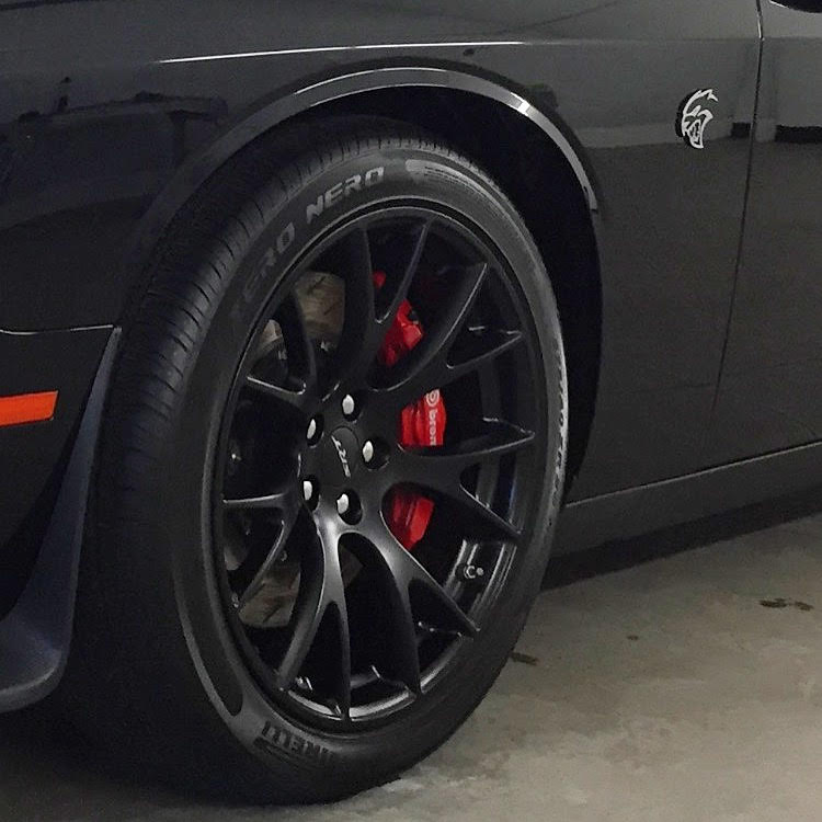 Hellcat Wheel Armour | Auto Detailing | Bend Oregon | Dynamic Detailing