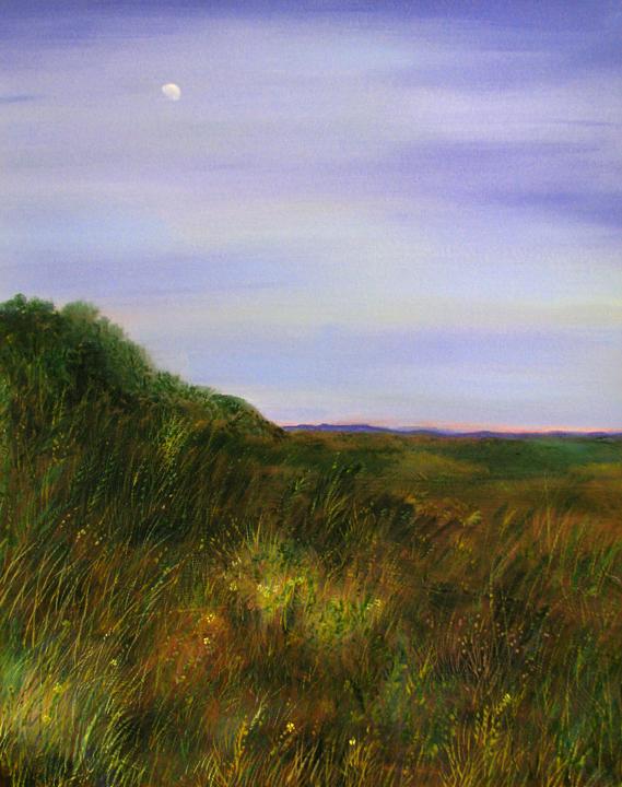 Santa Fe Moonrise