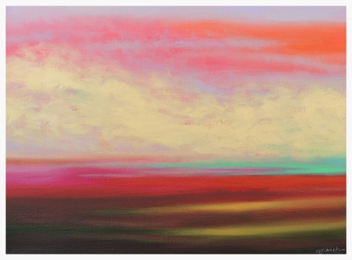 Hot Prairie Sunset #2