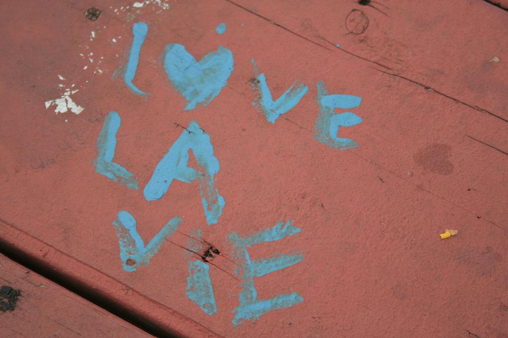 LOVE LA VIE < blog