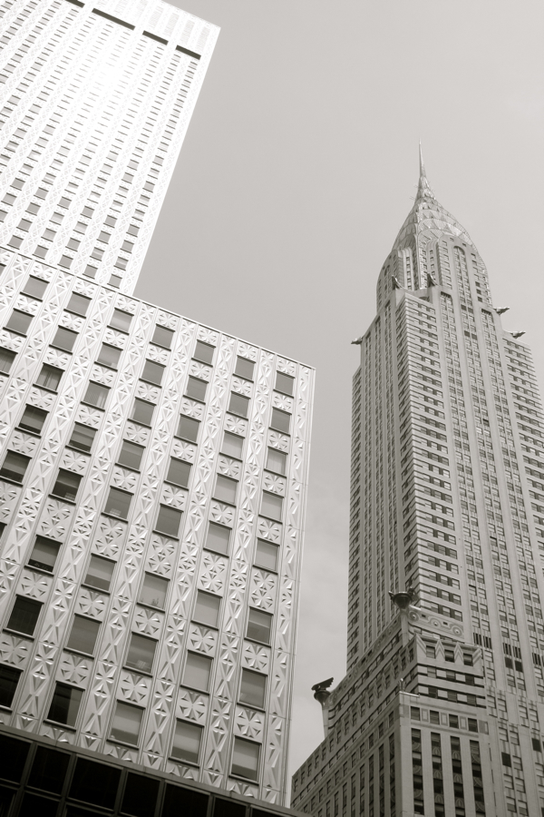 Socony and Chrysler Buildings