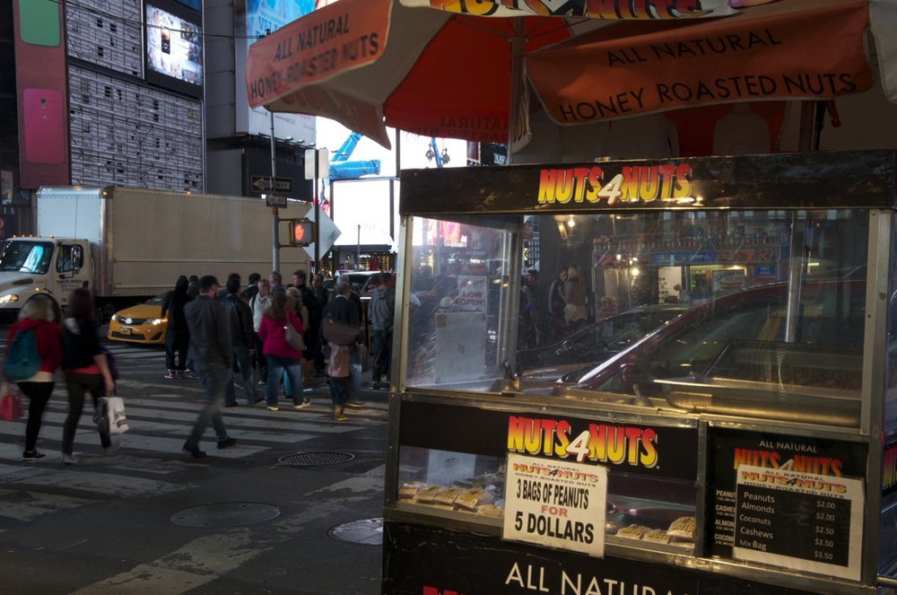 Midnight on times Square, Series 11, 1/2 (Honey Roasted Nuts)