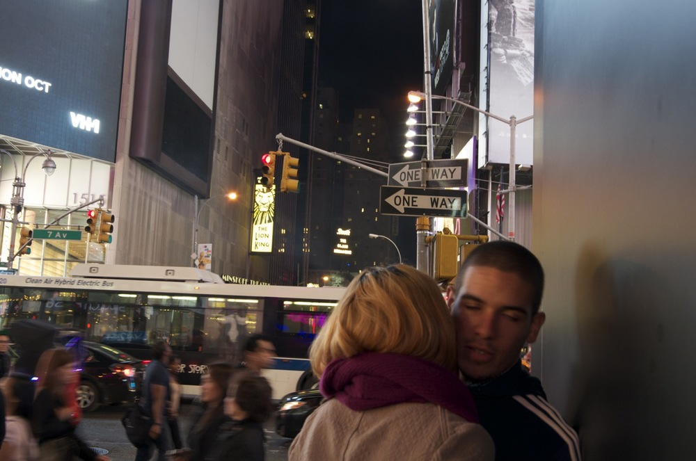 commenter >  Midnight on times Square, Series 11, 2/2 (Embrace)  < comment