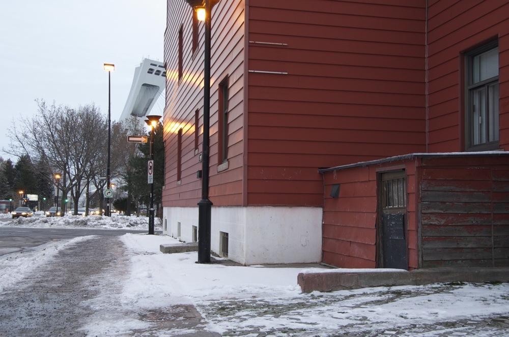 Rue Rachel, à la rue Sherbrooke