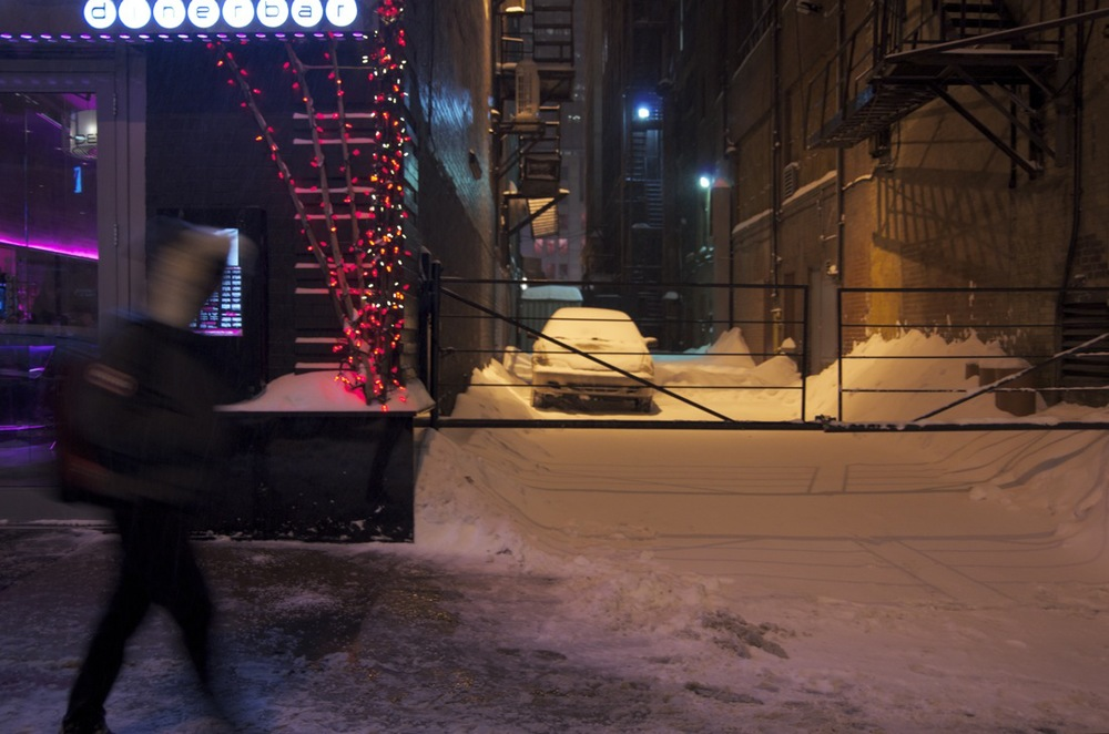 Soir d'hiver, Rue Stanley