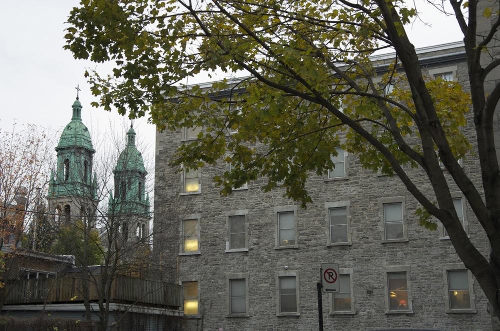 Couvent et clochers, rue Dufresne