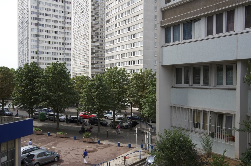commenter >  L'avenue d'Ivry, depuis les Olypiades 1/2  < comment